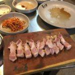 韓国 釜山のオススメ焼肉 トネヌ