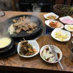 韓国 釜山の焼肉 オニャンカルビ