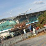 韓国 釜山の金海国際空港を利用した感想