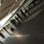 中国 合肥から武漢へ新幹線での移動